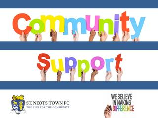 St Neots Town FC Community Support Brochure