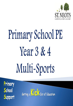 Primary School PE Year 3 and 4 Multi – Sports Planner