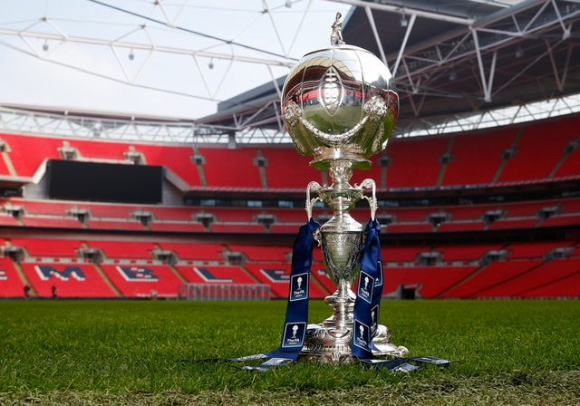 FA Trophy game this Saturday