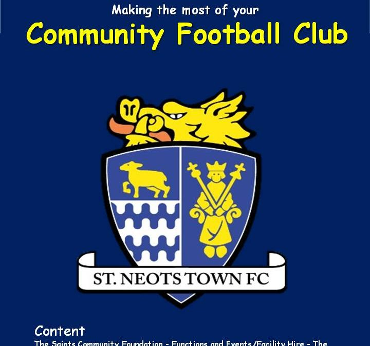 Making the Most of your Community Football Club