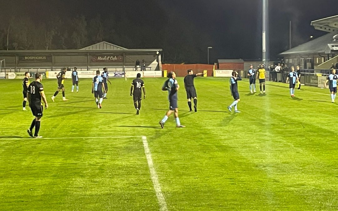 Super Saints Hit Barton For Six In Tuesday Night Goal-Fest